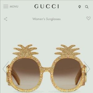 Pineapple Gucci sunglasses 🍍 MAKE ME AN OFFER